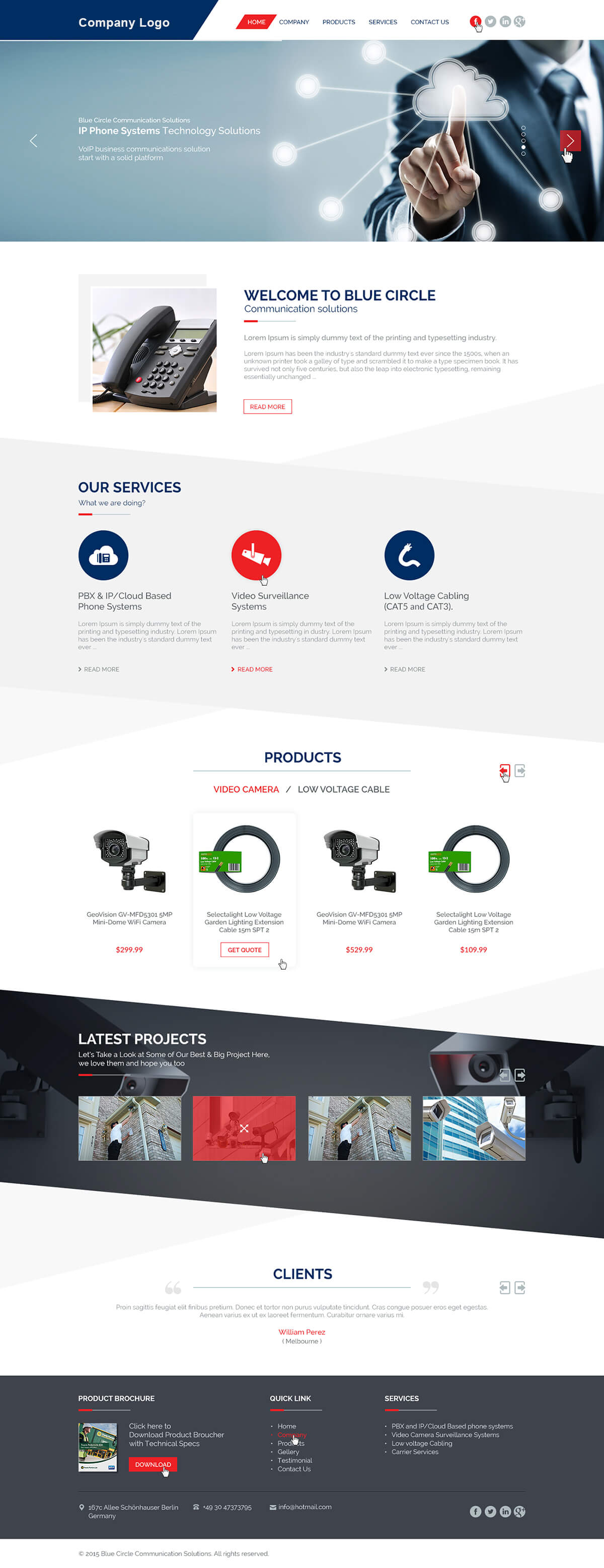 Small business website template ved web services friedricerecipe Images