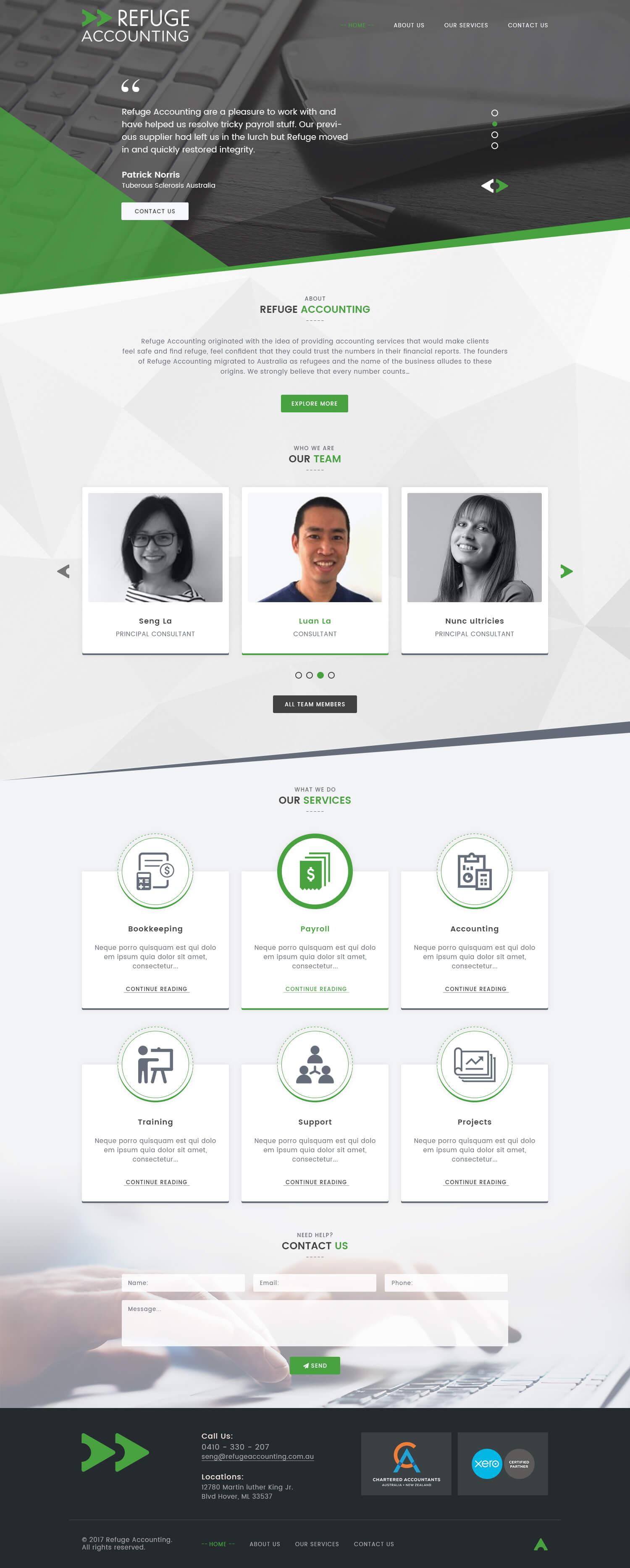 Groß Cpa Website Vorlagen Zeitgenössisch - Beispiel Business ...