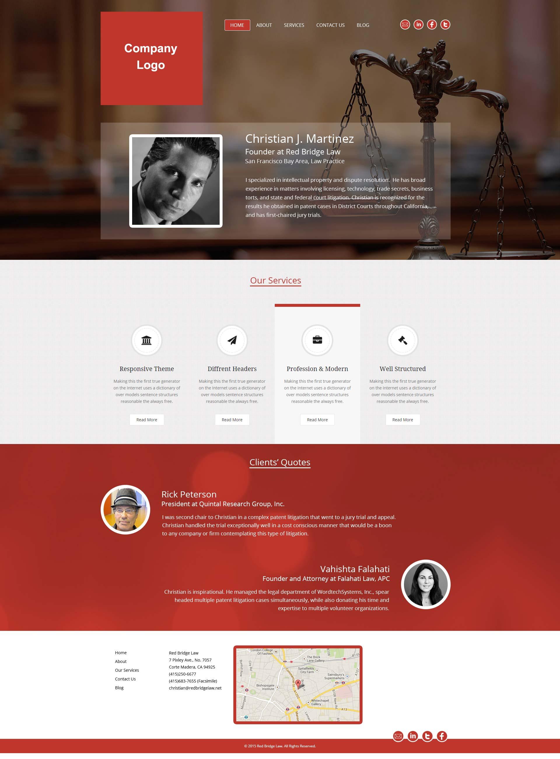 Law Firm Website Design Lawyer Website Design Template Attorney Legal Sites Design
