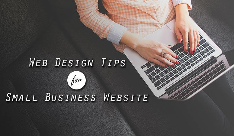 WebDesign Tips for Small Business Website
